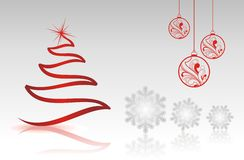Christmas collection with single shapes. Royalty Free Stock Photos