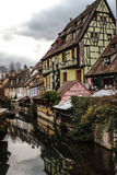Christmas in Colmar royalty free stock images