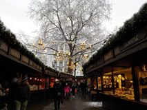 Christmas in Cologne, Germany. Christmas markets. stock photo