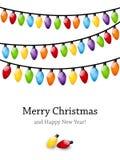 Christmas color light Stock Photo