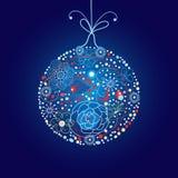 Christmas colored ball Stock Photos