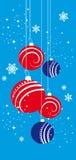 Christmas colored balls Stock Image