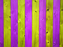 Christmas Colored Wooden Fence Board Background Stock Images