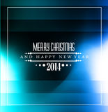 2014 Christmas Colorful Background. With stunning game lights Royalty Free Illustration