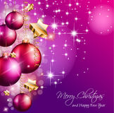 2014 Christmas Colorful Background Royalty Free Stock Photography