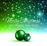 2015 Christmas Colorful Background Royalty Free Stock Image