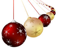 Christmas colorful ball Stock Photography