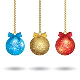 Christmas colorful balls Royalty Free Stock Photo