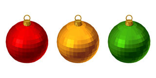 Christmas colorful balls. Royalty Free Stock Images