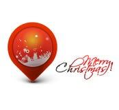 Christmas colorful banner Stock Photos