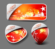 Christmas colorful banner Royalty Free Stock Photography