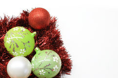 Christmas colorful decorations Stock Photography
