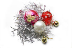 Christmas colorful decorations Stock Images