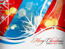 Christmas colorful design Stock Images
