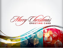 Christmas colorful design royalty free illustration