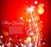 Christmas colorful design Stock Photos