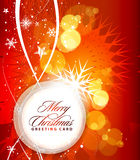 Christmas colorful design Royalty Free Stock Photo