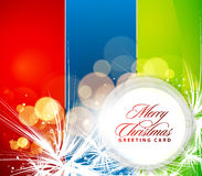 Christmas colorful design. Abstract Background for Christmas design,  illustration Royalty Free Stock Photo