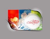 Christmas colorful design Royalty Free Stock Image
