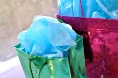 christmas colorful presents Στοκ Εικόνες