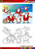 Christmas coloring page Royalty Free Stock Photo