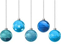 Christmas colour balls Stock Image
