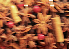 Christmas Colour  Landscape format Stock Photos