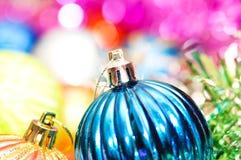 christmas colourful decoration Στοκ Φωτογραφίες