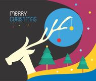 Christmas Colours feelings Royalty Free Stock Photography