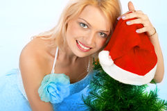 Christmas comes! stock photo