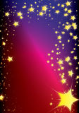 Christmas Comet Stock Photo