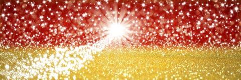 Christmas comet eve stars Stock Image