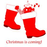 Christmas is coming! Royalty Free Stock Images
