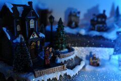 Christmas is coming Stock Images