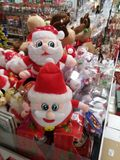 Santa Claus and Christmas gift decorations. Christmas is coming, the mall Santa Claus and Christmas gift decorations and so on. In shenzhen, China Royalty Free Stock Image