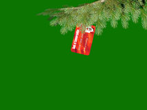 Christmas Commercialism royalty free stock photos