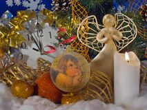 Christmas composition (1) Stock Images