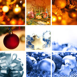 Christmas composition Royalty Free Stock Image