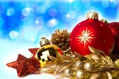 Christmas composition Stock Photography