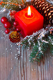 Christmas composition. Royalty Free Stock Photography