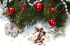 Christmas composition Stock Image