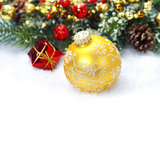 Christmas composition Royalty Free Stock Photos