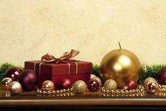 Christmas composition Stock Photos