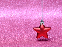 Christmas composition on bright background Royalty Free Stock Images