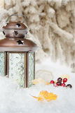 Christmas composition Royalty Free Stock Images