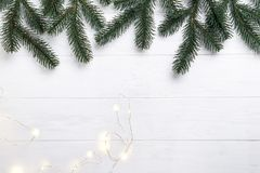 Christmas composition. Royalty Free Stock Images