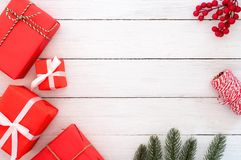 Christmas composition. Royalty Free Stock Image