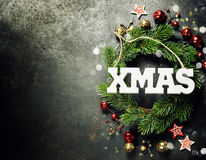 Christmas composition Royalty Free Stock Photography