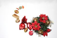 Christmas composition Stock Images