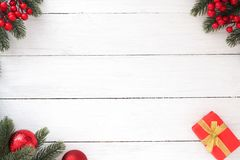 Christmas composition. Stock Images